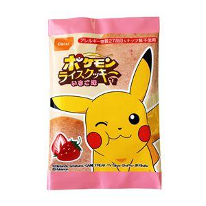 【尾西食品】 ポケモンライスクッキー/菓子 【いちご味 400枚セット】 日本製 〔非常食 企業備蓄 防災用品〕【代引不可】