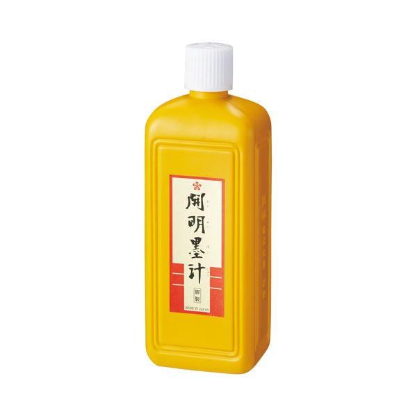 (まとめ)開明 開明墨汁 400mL BO1020【×30セット】