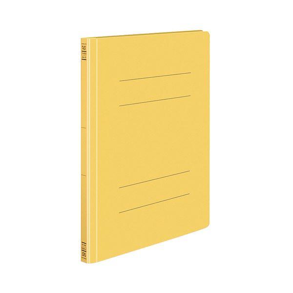 (まとめ) コクヨ フラットファイルS(ストロングタイプ) A4タテ 150枚収容 背幅18mm 黄 フ-VS10Y 1セット(10冊) 【×10セット】