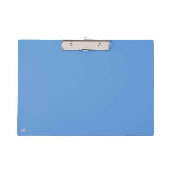 【スーパーセールでポイント最大44倍】(まとめ) ライオン事務器 PETカラー用箋挟B4ヨコ ブルー No.231K 1枚 【×10セット】