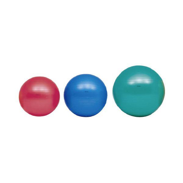 【マラソンでポイント最大44倍】(まとめ)ボディーボール55cm 赤 H7261【×2セット】