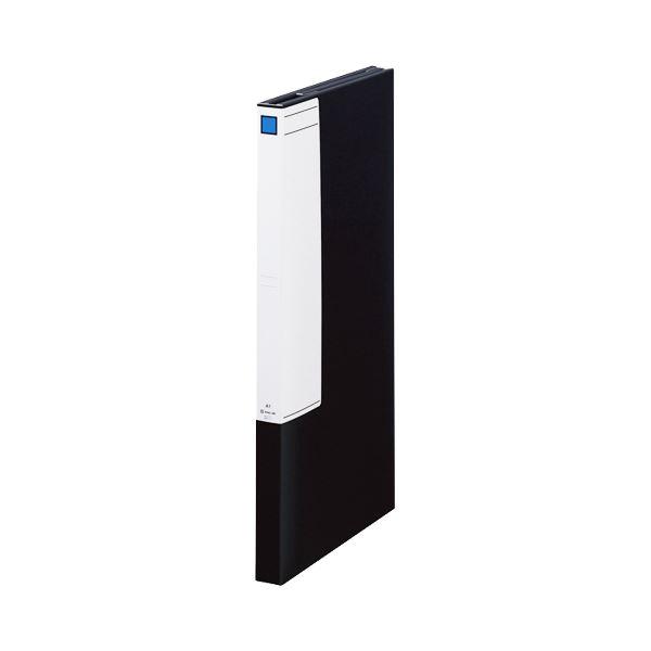 (まとめ)キングジム 図面ファイルGS A13つ折 背幅40mm 黒 1171 1セット(5冊)【×3セット】