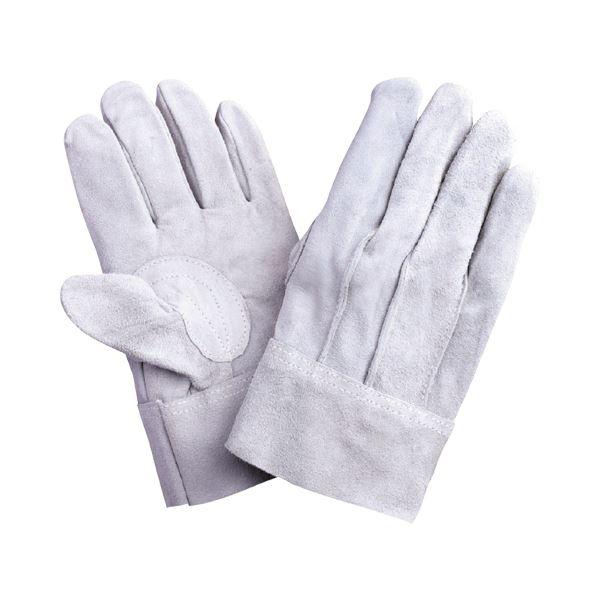 (まとめ) 川西工業 牛床革背縫 2260 1パック(12双) 【×5セット】