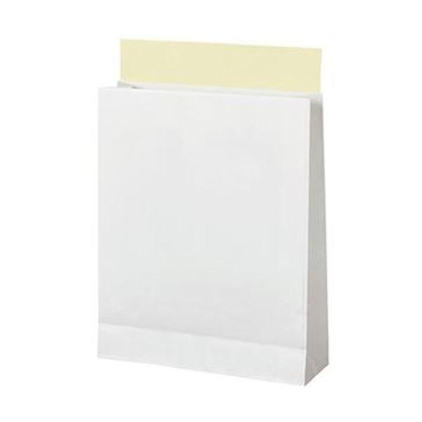 TANOSEE 宅配袋 晒片つや 小 白封かんテープ付 1パック(100枚) 【×10セット】