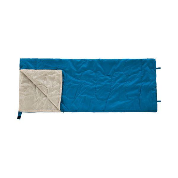 【マラソンでポイント最大44倍】(まとめ) カワセ 封筒型シュラフ(寝袋)ブルー BDK-30B【×5セット】