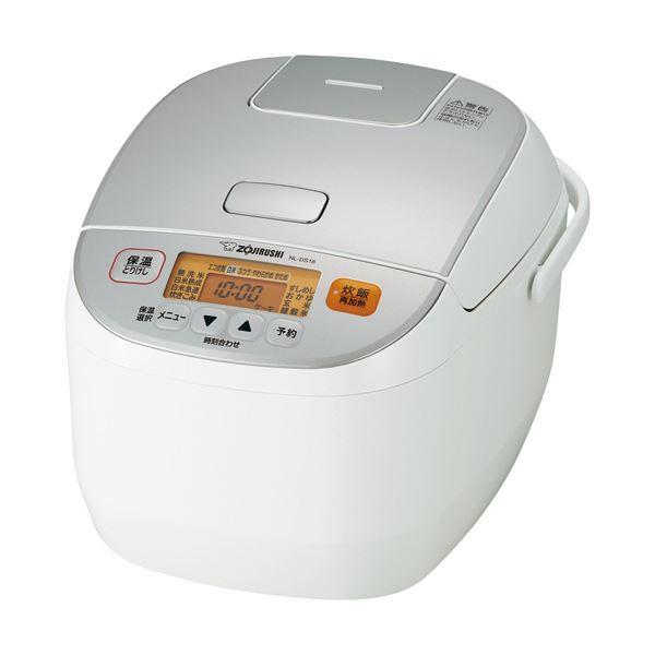 象印 マイコン炊飯ジャー 極め炊き1升炊き ホワイト NL-DS18-WA 1台