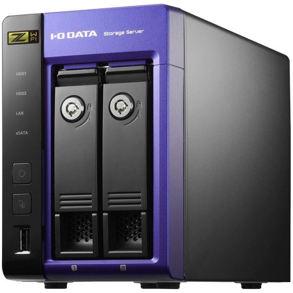 【スーパーセールでポイント最大44倍】アイ・オー・データ機器 Windows Storage Server 2016 Standard Edition/IntelCore i3搭載 2ドライブNAS 2TB HDL-Z2WP2I