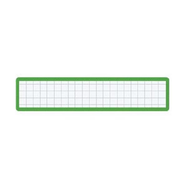 (まとめ)コクヨ マグネット見出しカード寸法19×105mm 緑 マク-411G 1セット(10個)【×10セット】