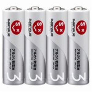 【スーパーセールでポイント最大44倍】(業務用5セット) ジョインテックス アルカリ乾電池 単3×200本 N123J-4P-50