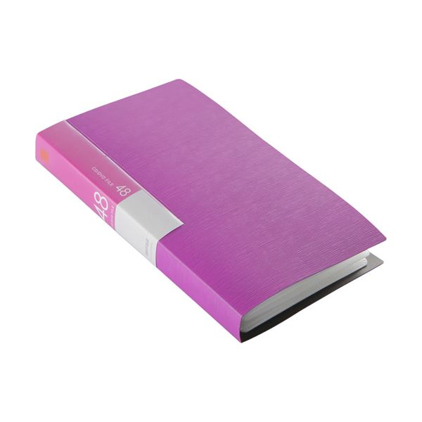 (まとめ) バッファローCD&DVDファイルケース ブックタイプ 48枚収納 ピンク BSCD01F48PK 1個 【×30セット】