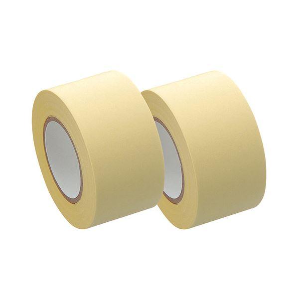 (まとめ) ヤマト メモック ロールテープ 再生紙タイプ つめかえ用 25mm幅 黄 R-25H-1 1パック(2巻) 【×30セット】