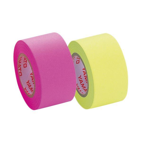 (まとめ) ヤマト メモック ロールテープ つめかえ用 25mm幅 ローズ&レモン WR-25H-6A 1パック(2巻) 【×30セット】