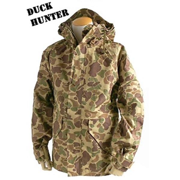 アメリカ軍 ECWC S-1ジャケット/パーカー 【 XSサイズ 】 透湿防水素材 JP041YN ダックハンター 【 レプリカ 】