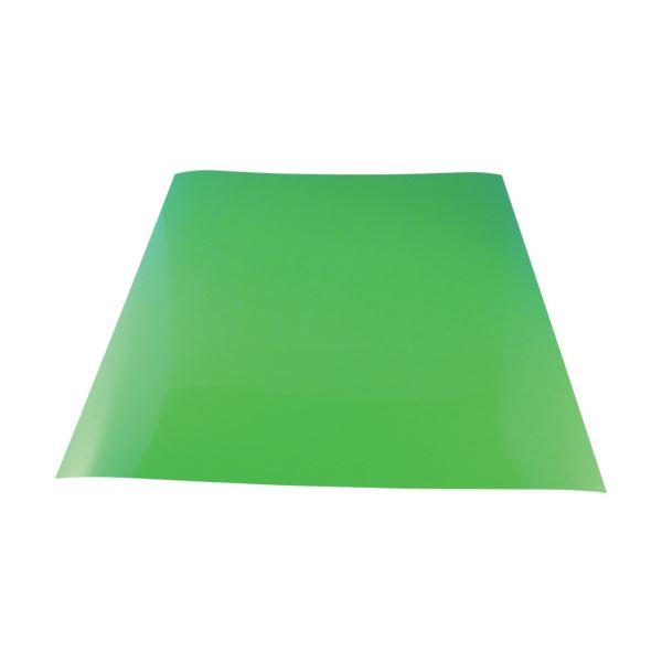 (まとめ) 下西製作所 カラーマグネットシート緑T0.9×300×300 NT7SG09300300 1個 【×10セット】