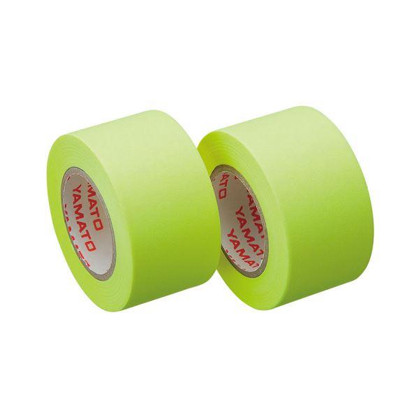【スーパーセールでポイント最大44倍】(まとめ) ヤマト メモック ロールテープ つめかえ用 25mm幅 レモン WR-25H-LE 1パック(2巻) 【×30セット】