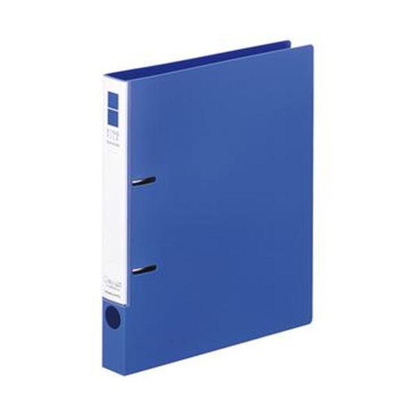 (まとめ)コクヨ リングファイル(スリムスタイル)B5タテ 2穴 220枚収容 背幅33mm 青 フ-URF431B 1冊【×50セット】