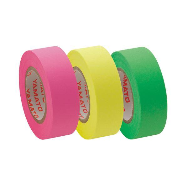 【スーパーセールでポイント最大44倍】(まとめ) ヤマト メモック ロールテープ つめかえ用 15mm幅 ライム&レモン&ローズ RK-15H-B 1パック(3巻) 【×30セット】