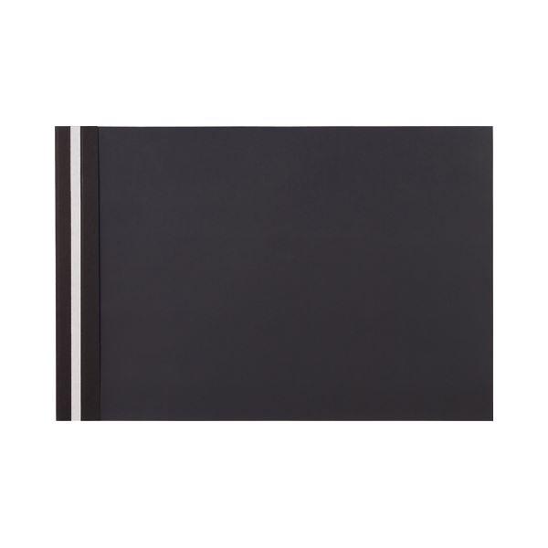 【スーパーセールでポイント最大44倍】(まとめ)TANOSEEプレゼンテーションファイル スタンダード A3ヨコ 50枚収容 ブラック 1パック(5冊) 【×10セット】