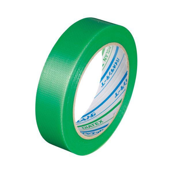 【スーパーセールでポイント最大44倍】(まとめ) ダイヤテックス パイオランクロス粘着テープ 塗装養生用 25mm×25m 緑 Y-09-GR-25 1巻 【×30セット】
