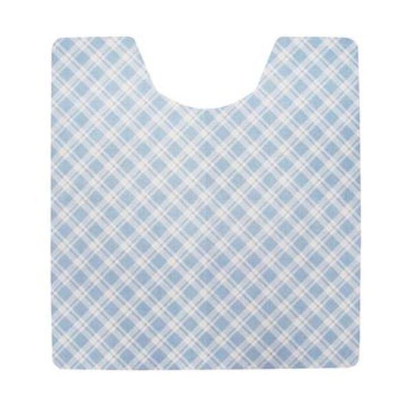 (まとめ)今村紙工 トイレフロアシート ブルー 1パック(20枚)【×5セット】