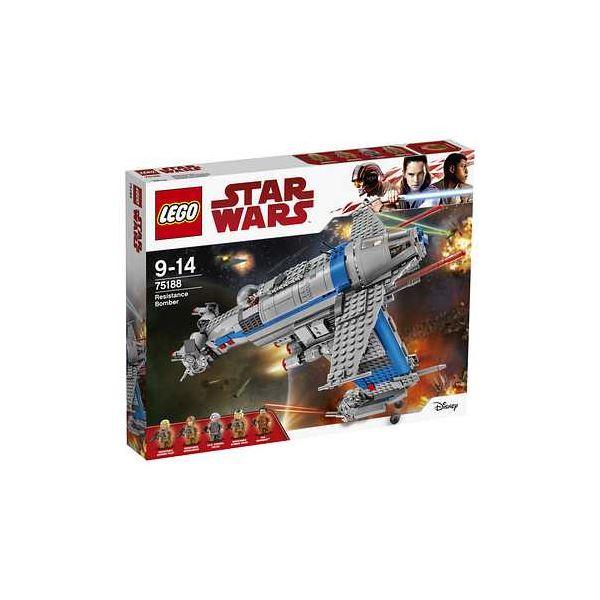 【マラソンでポイント最大43倍】レゴジャパン 75188 レゴ(R)スター・ウォーズ レジスタンス・ボマー 【LEGO】