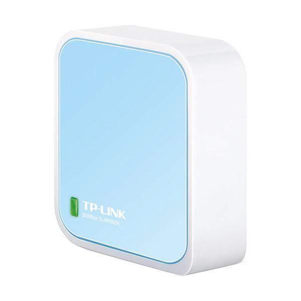(まとめ) TP-Link 300Mbps Nano無線LANルーター TL-WR802N 1台 【×5セット】