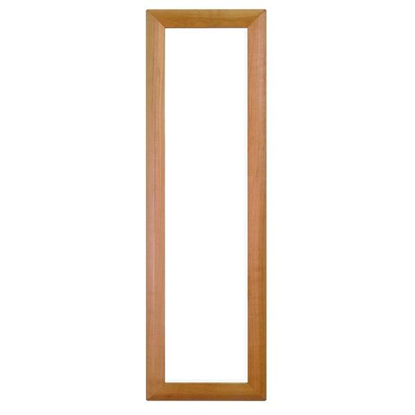 デザイン ウォールミラー/壁掛け鏡 【MUKU3712】 飛散防止加工 『MUJKU』【代引不可】