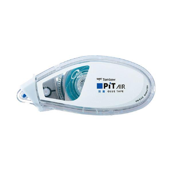 (まとめ)トンボ鉛筆 テープのりピットエアーミニ スタンダード PN-EAS (×100セット)