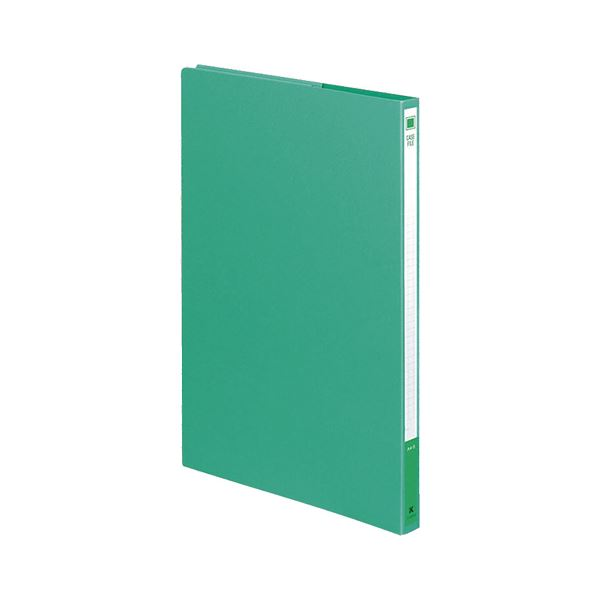 (まとめ) コクヨ ケースファイル A4タテ背幅17mm 緑 フ-900NG 1冊 【×50セット】