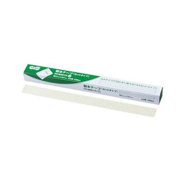 【スーパーセールでポイント最大44倍】(まとめ)TANOSEE 製本ラベル 契約書割印用25×297mm ホワイト 1箱(100枚)【×10セット】