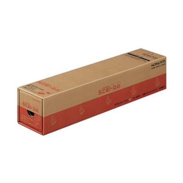 (まとめ)コクヨ ダブルクリップ(Scel-bo)業務パック 小 口幅19mm 黒 クリ-JB35D 1パック(100個:10個×10箱)【×5セット】