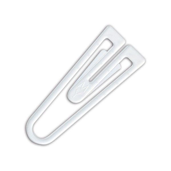 (まとめ) ミツヤ フォーアース プチプラゼムクリップ 25mm 白 FE-3250 1箱(約250本) 【×30セット】
