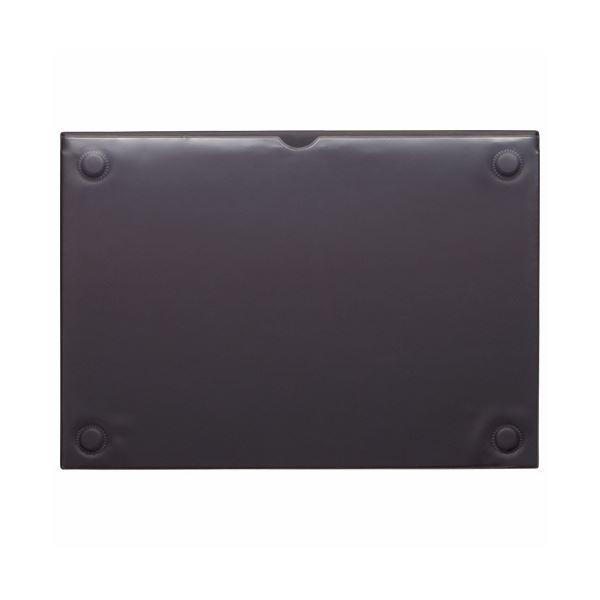 (まとめ) ライオン事務器 マグネットカードケースA4 ブラック MCC-A4 1枚 【×10セット】