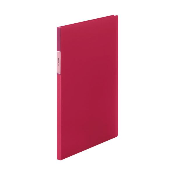 【スーパーセールでポイント最大44倍】(まとめ) キングジム FAVORITESクリアーファイル(透明) A4タテ 20ポケット 背幅12mm 赤 FV166Tアカ 1冊 【×30セット】
