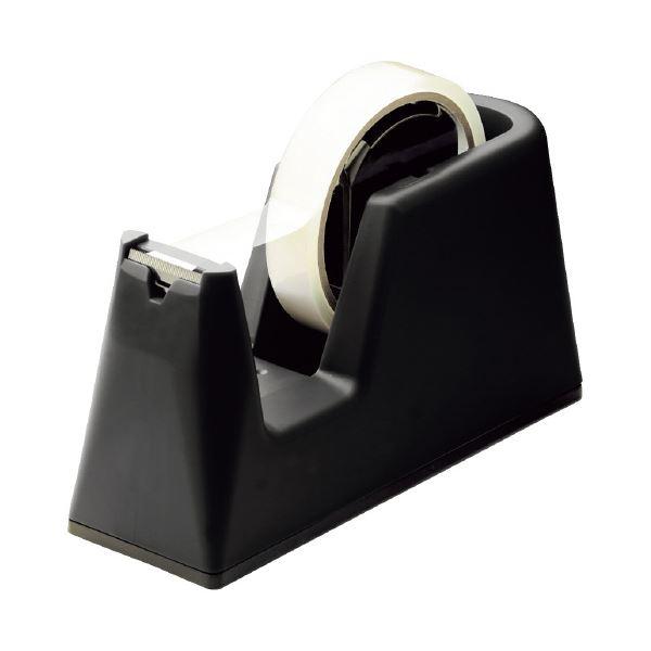 【スーパーセールでポイント最大44倍】(まとめ)ソニック プロテープカッター グライン 黒 TC-2983-D(×30セット)