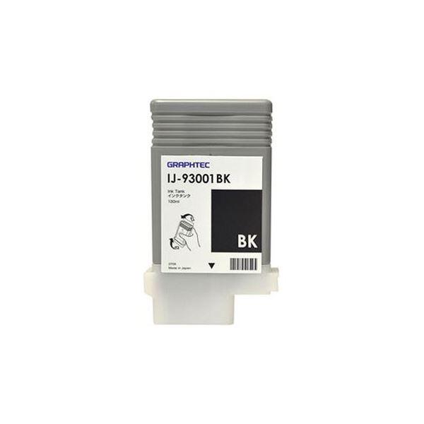 (まとめ)グラフテック インクタンク ブラック130ml IJ-93001BK 1個【×3セット】