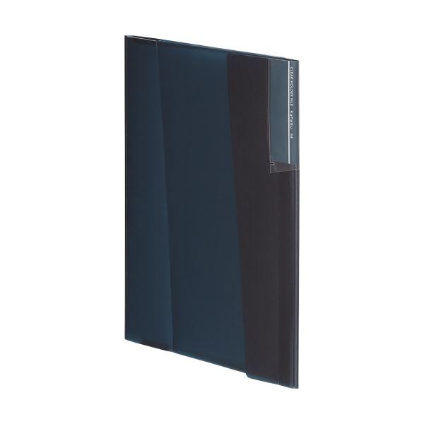 【スーパーセールでポイント最大44倍】(まとめ) コクヨクリヤーホルダーファイル[KaTaSu] A4 ブラック フ-KC5720D 1冊 【×30セット】
