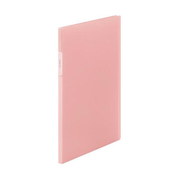 【スーパーセールでポイント最大44倍】(まとめ) キングジム FAVORITESクリアーファイル(透明) A4タテ 20ポケット 背幅12mm ピンク FV166Tヒン 1冊 【×30セット】