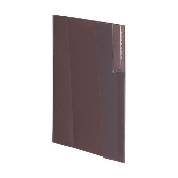 【スーパーセールでポイント最大44倍】(まとめ) コクヨクリヤーホルダーファイル[KaTaSu] A4 ブラウン フ-KC5720S 1冊 【×30セット】