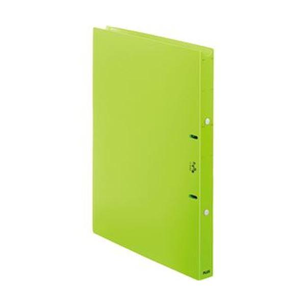 (まとめ)プラス たすけあ 利用者カルテリングファイル A4タテ 背幅24.5mm グリーン FL-804RF-GR 1冊【×20セット】