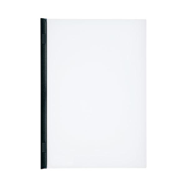 【スーパーセールでポイント最大44倍】(まとめ)LIHITLAB スライドバーファイル G1720-24 黒 10冊【×30セット】