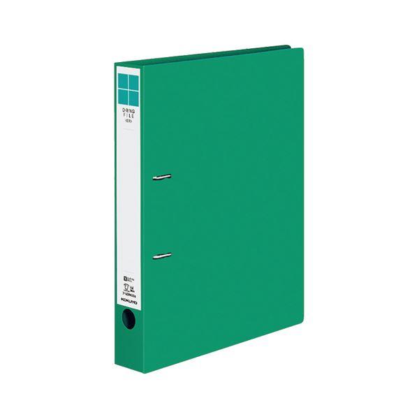 (まとめ) コクヨ Dリングファイル(ER) A4タテ 2穴 300枚収容 背幅45mm 緑 フ-UDR430NG 1冊 【×30セット】
