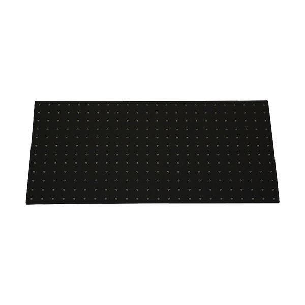 光 パンチングボード フレーム付(約300×600mm) 黒 PGBD306-1 1セット(5枚)