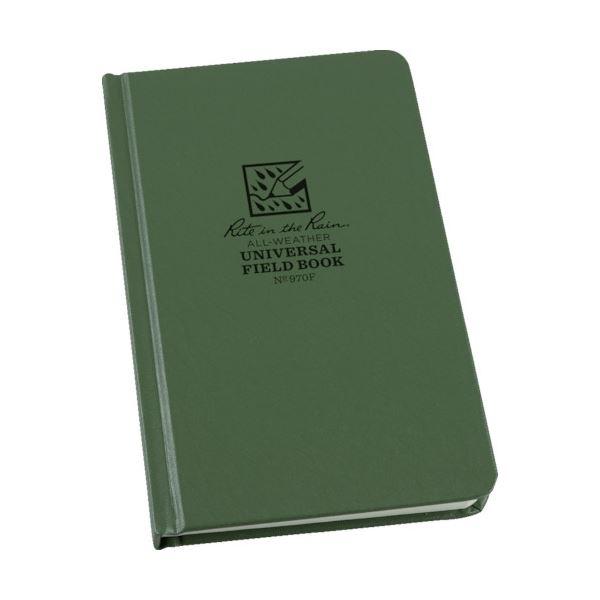 (まとめ)ライトインザレイン ハードカバーユニバーサル グリーン 970F 1冊【×3セット】