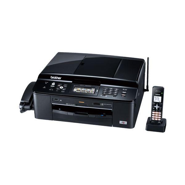 引き出物 FAX機能付 セール特価品 FAXも 電話も プリンターもできるフルスペックモデル ブラザー PRIVIOインクジェット複合機 子機1台付 FAX機能 1台 A4 MFC-J960DN-B ブラック