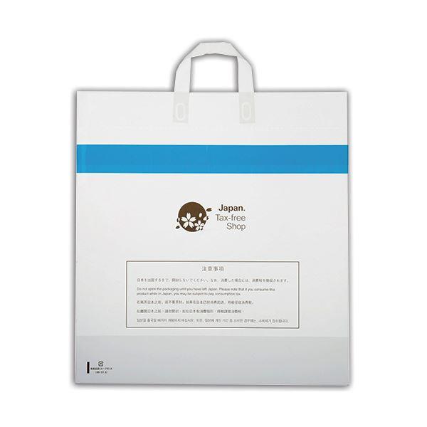 (まとめ)福助工業 免税店袋(ループ付) 大0360724 1パック(30枚)【×3セット】