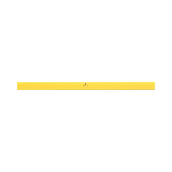 (まとめ) TANOSEE マグネットバー W310mm 黄 1本 【×30セット】