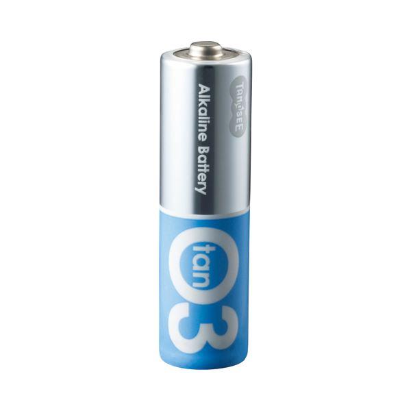 (まとめ) TANOSEE アルカリ乾電池プレミアム 単3形 1セット(100本:20本×5箱) 【×5セット】