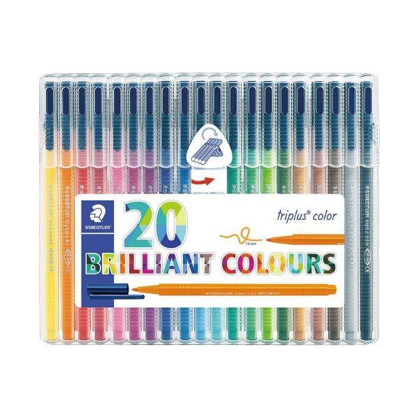 (まとめ)ステッドラー トリプラスカラーペン20色 323 SB20(×20セット)
