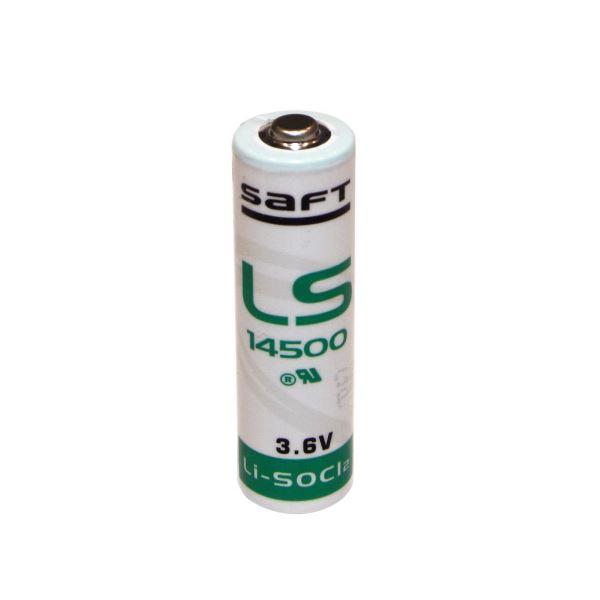 (まとめ) SAFT 塩化チオニルリチウム一次電池単3形 3.6V LS14500 1個 【×5セット】
